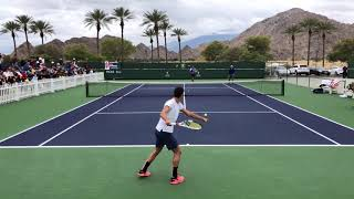 Thanasi Kokkinakis / Nick Kyrgios 2018 Practice (Court Level 60fps)