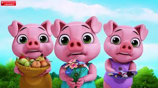 Mr. Wolf's Big Sister and Three Little Pigs Bedtime Stories for Kids | Infobells