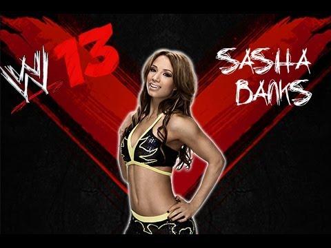 WWE'13 Sasha Banks CAW