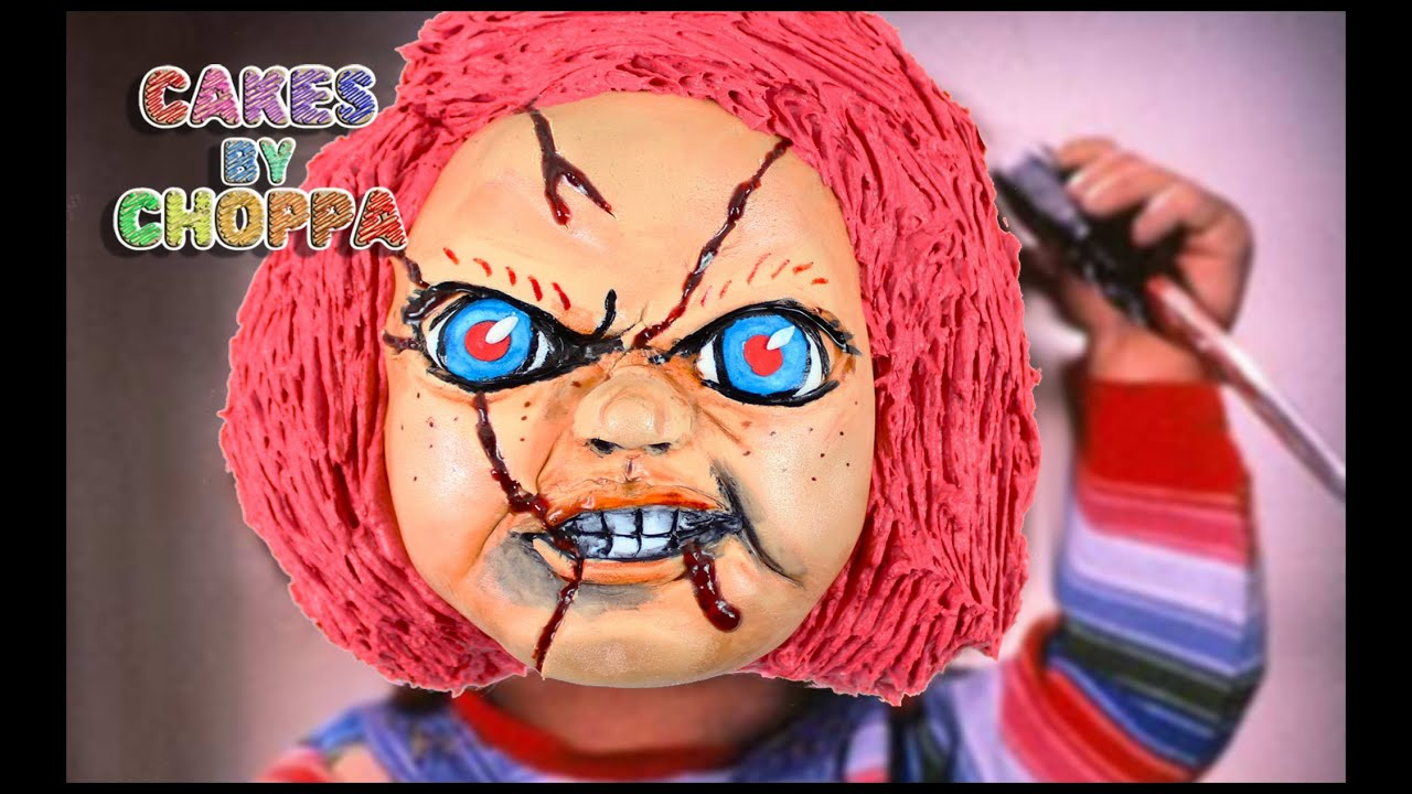 Halloween Cake Chucky Childs Play How To Youtube
