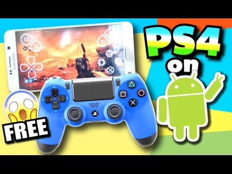 Play PS4 Games On Android For FREE (NO ROOT) (NO COMPUTER) - ANY Android Phone, And Tablet