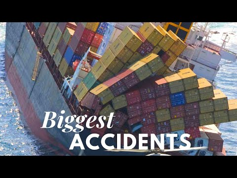 Biggest Container Ship Accidents in 21st Century