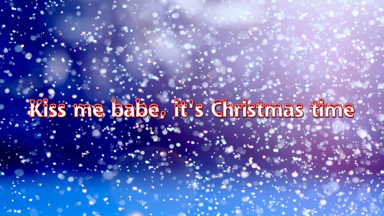 Owl City - Kiss Me Babe, It's Christmas Time [Lyrics] [Full HD ...