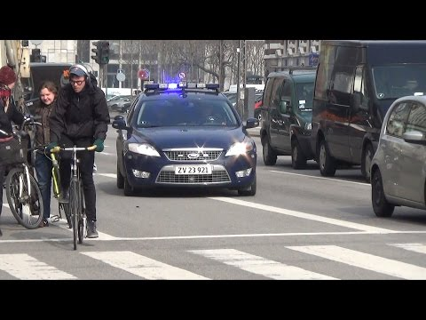 11x Politi København/ marked and unmarked Police Copenhagen