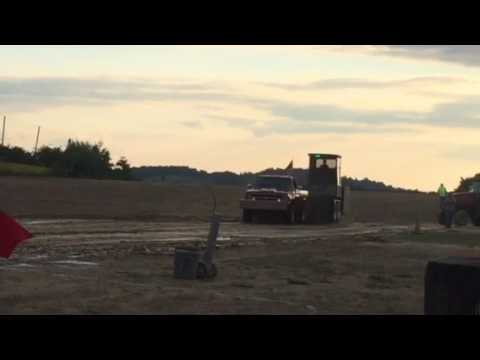 Truck pull Marion Center Speedway