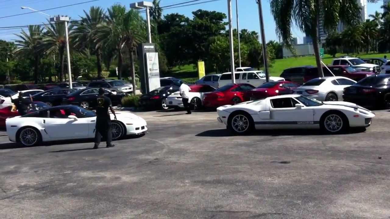 DEPARTURE - Pagani at Lamborghini Miami, Oct 20, 2012 Drive to ...