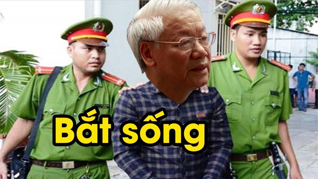 Vi phạm pháp luật, Bộ Công an bất ngờ quyết định bắt giam Nguyễn Phú Trọng chờ xét xử