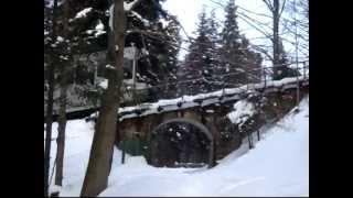 Kolej linowo-terenowa na Górę Parkową w Krynicy / Funicular on Parkowa Mountain in Krynica