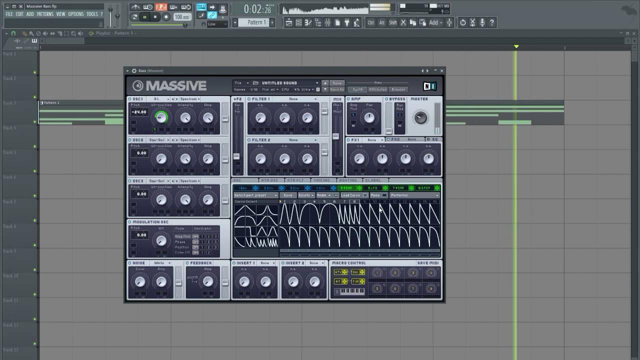 Download Massive Screamy Growl Bass [Sancus]