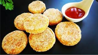Sweet Potato Tikkis | Shakarkand Tikki | Sweet Potato Tots | Healthy Recipes