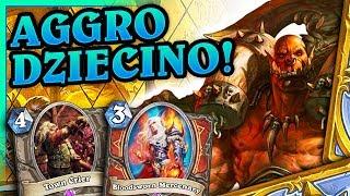 Aggro dziecino! - Tempo warrior - Hearthstone Deck (Saviors of Uldum)