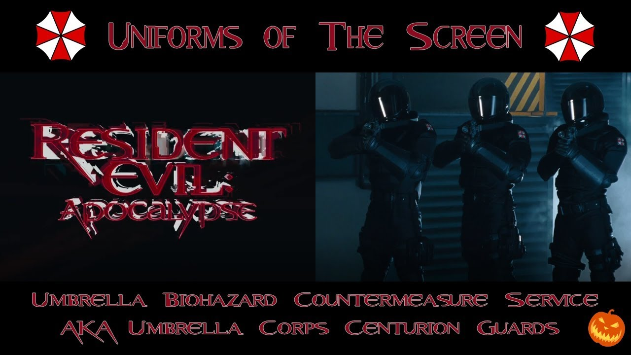 Resident Evil Apocalypse Ubcs Umbrella Corp Centurion Guards