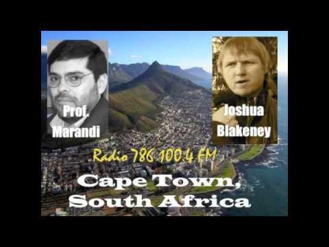 Prof. Seyed Marandi and Joshua Blakeney on Radio 786, 100.4 FM Live, Cape Town, South Africa