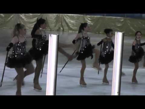 Christmas Skating Show Group