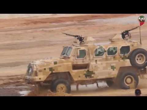 Live mobility demonstration NORINCO main battle tank armoured all terrain vehicles AirShow China