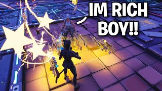 Rich Hacker Found NEW Duplication Glitch!! 😱😦 (Scammer Get Scammed) Fortnite Save The World