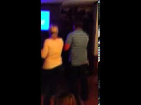 Justin & Dana karaoke -march 2013