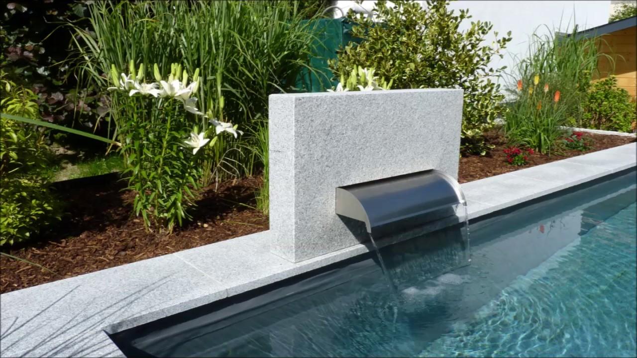 salzelektrolyse pool mit solarheizung von immergr n aus hemer youtube. Black Bedroom Furniture Sets. Home Design Ideas