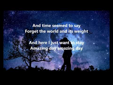 Coldplay - Amazing Day - LYRICS