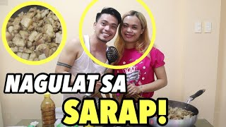 COOKING CHICKEN AND PORK ADOBO! FT. JAY-R BESCASER!