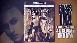 Resident Evil Afterlife 4K UHD Bluray Review @BrassTax