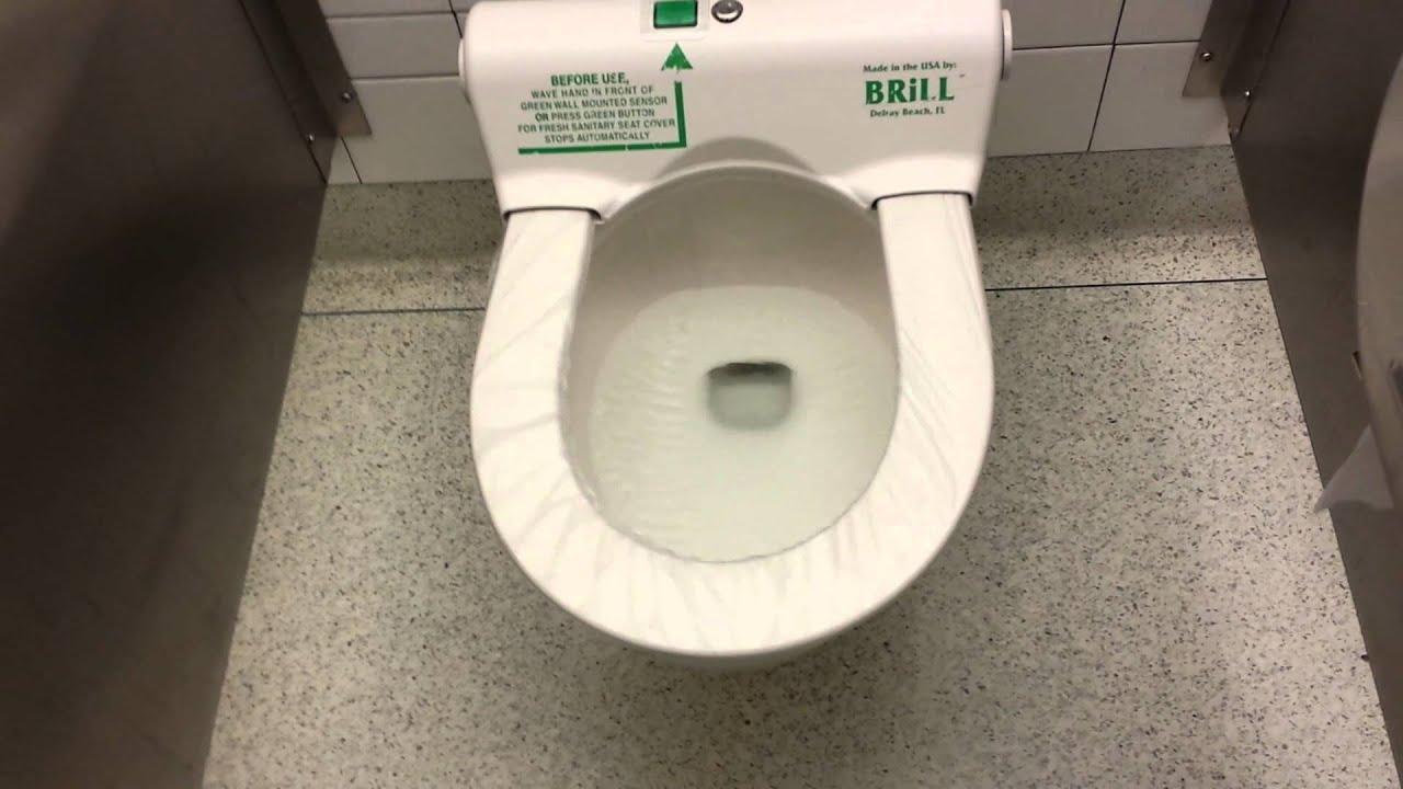 26/9 - JFK Airport Toilet 😂😂😂 - YouTube