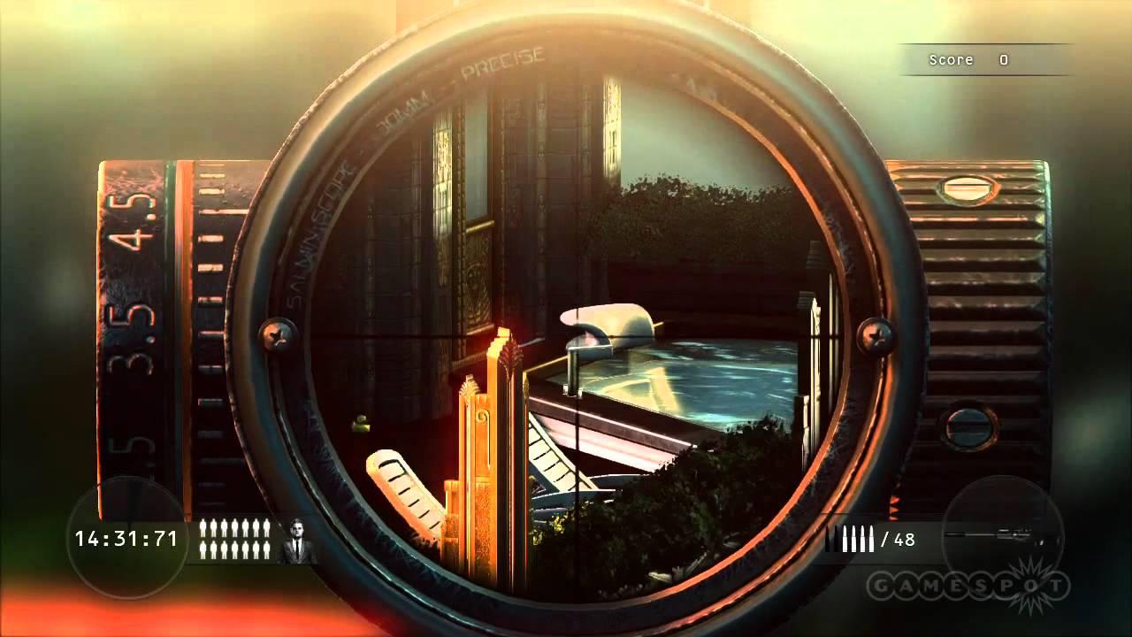 Hitman Sniper Challenge Trainer Free Download