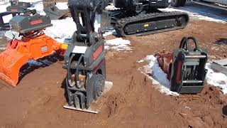 Video still for OilQuick Quick Grapple at the New Iron Expo