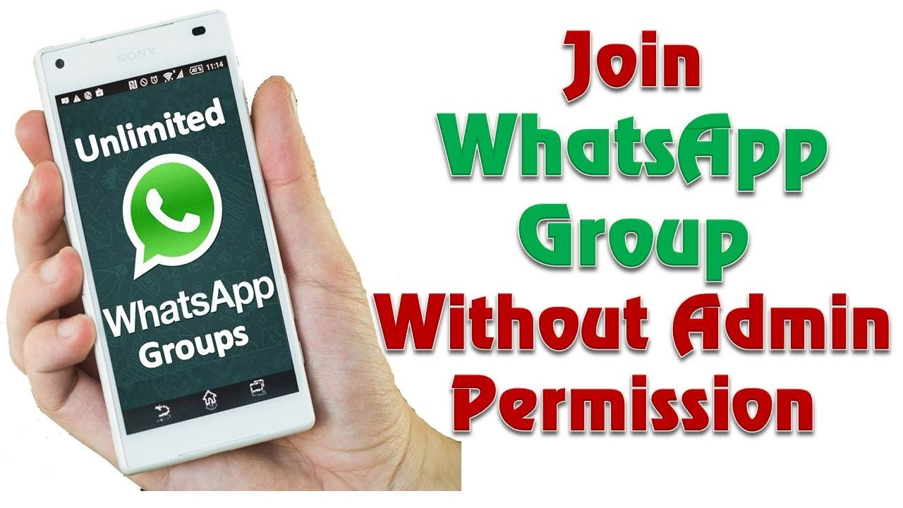 How to join any Whatsapp Group without admin Permission - TechTyre