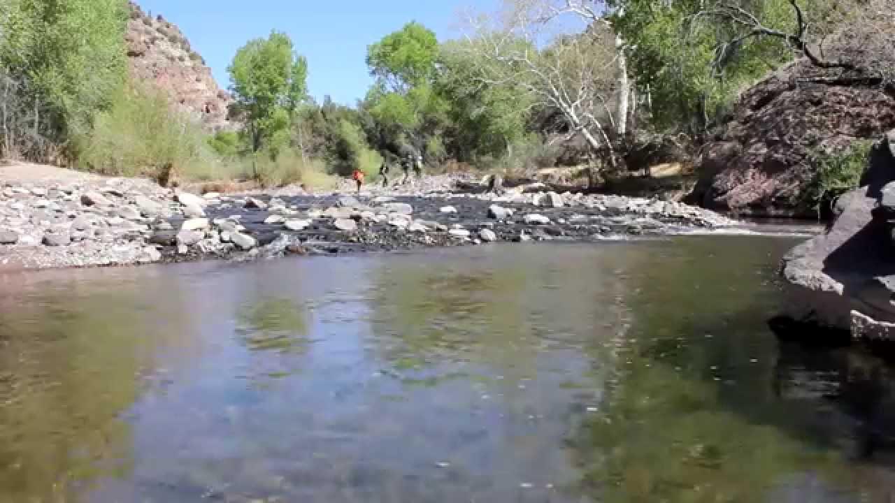 Blue river arizona 2014 youtube for Blue river fishing report