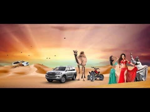 Live Belly Dance Performance | End of Dubai Desert Safari tour | ABC Tours 2020 (Part 8c).