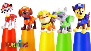 Paw Patrol Beads Surprise Cups Transform Toys