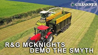 R&G McKnight Demo the Smyth Supercube on the Case 185!