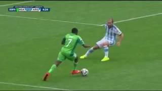 Download Video Ahmed Musa Amazing Goal vs Argentina;Brazil2014 MP3 3GP MP4