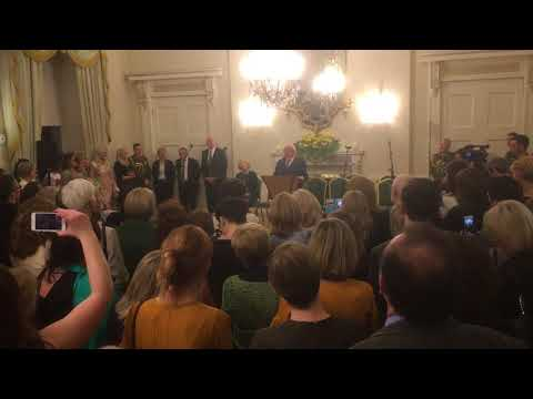 President Higgins pays tribute to organ transplant donors, recipients and practitioners