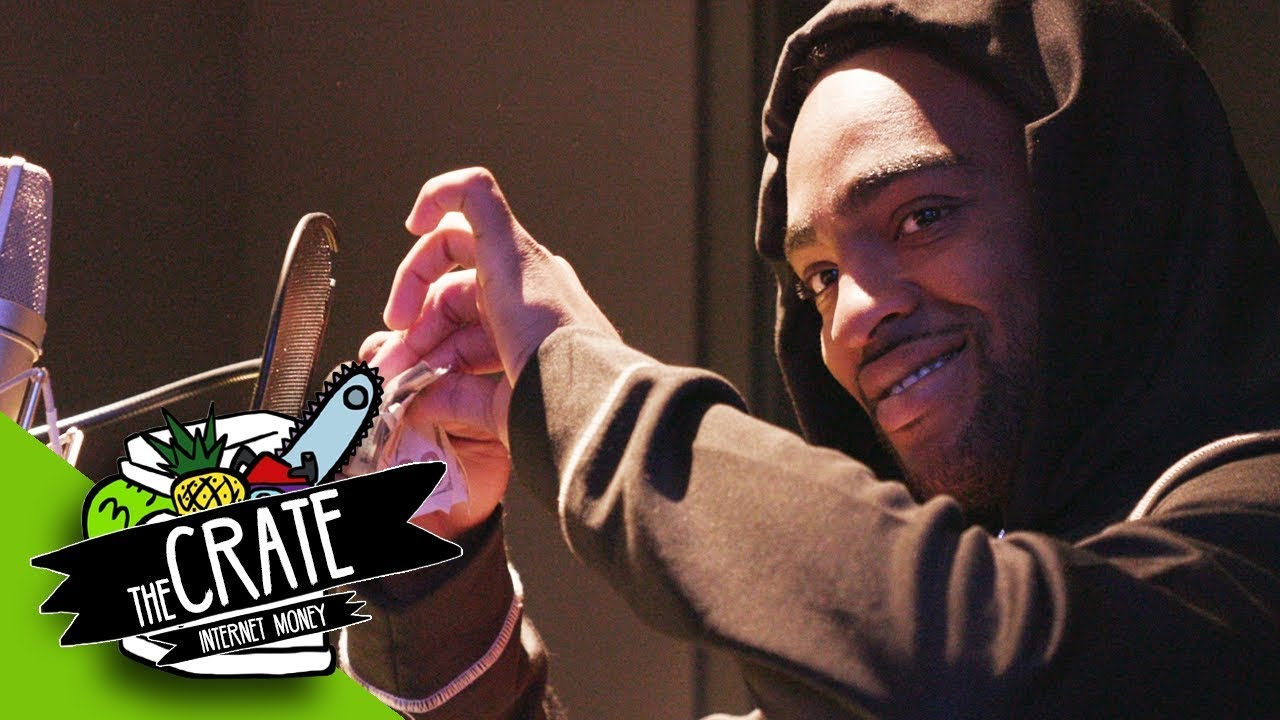 Internet Money Makes A Beat On The Spot | The Crate