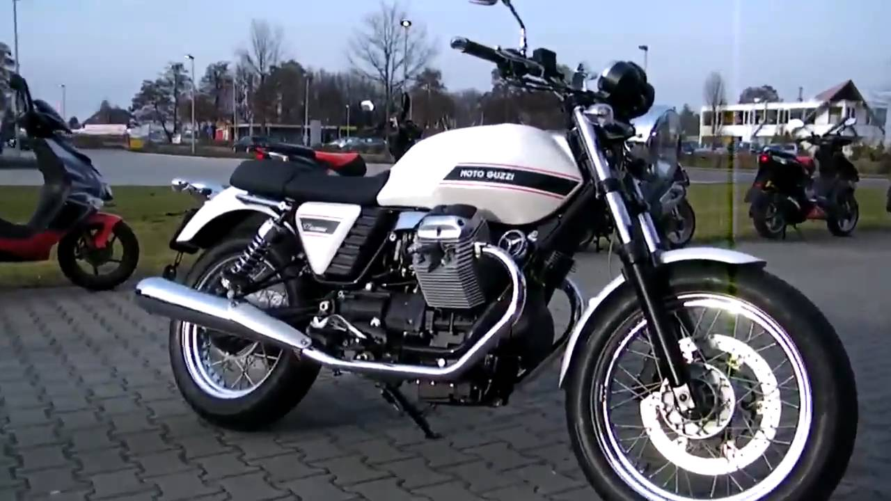 moto guzzi v7 classic 2010 motorrad youtube. Black Bedroom Furniture Sets. Home Design Ideas