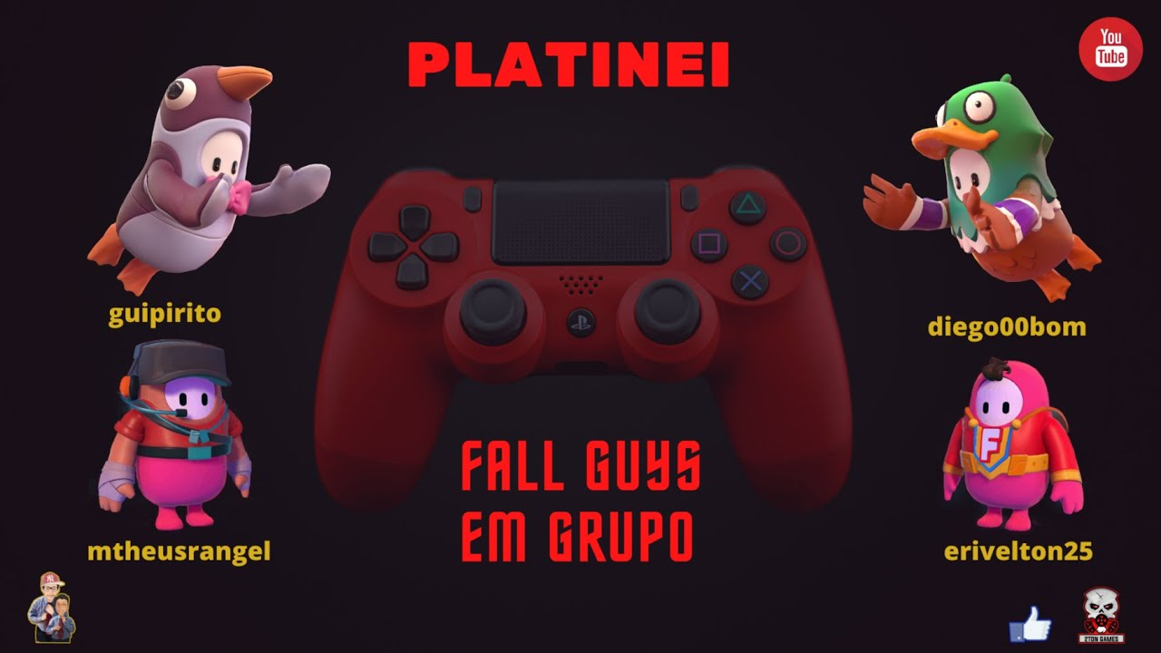 Download 🏆🏆(INACREDITÁVEL PLATINEI)🏆🏆 Fall Guys Platinei em Grupo!!!!!!!