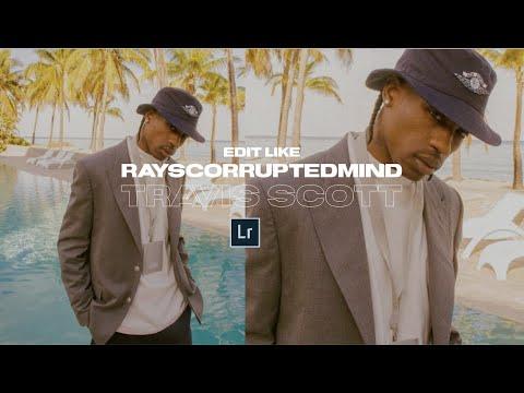 Edit Like TRAVIS SCOTT @rayscorruptedmind + Lightroom Mobile Preset DNG File