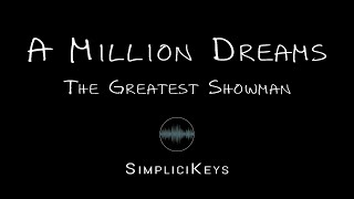 The Greatest Showman - A Million Dreams (Karaoke Piano)