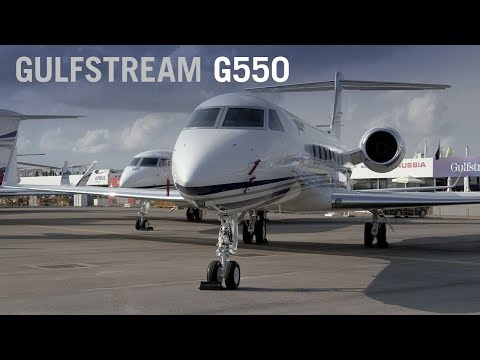 Spotlight on the Gulfstream G550 Business Jet Cabin Interior – AINtv