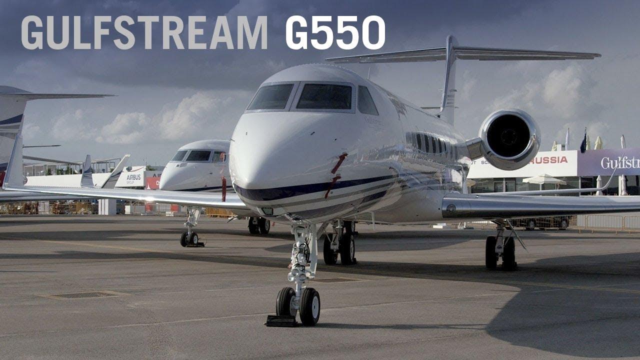 Gulfstream G550 Business Jet Cabin Interior Aintv