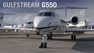 Gulfstream G550 Business Jet Cabin Interior – AINtv