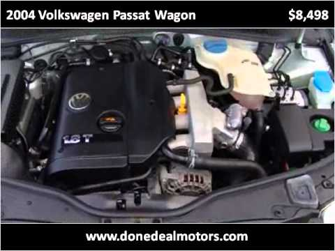 2004 volkswagen passat wagon used cars canton ma youtube for Done deal motors canton ma