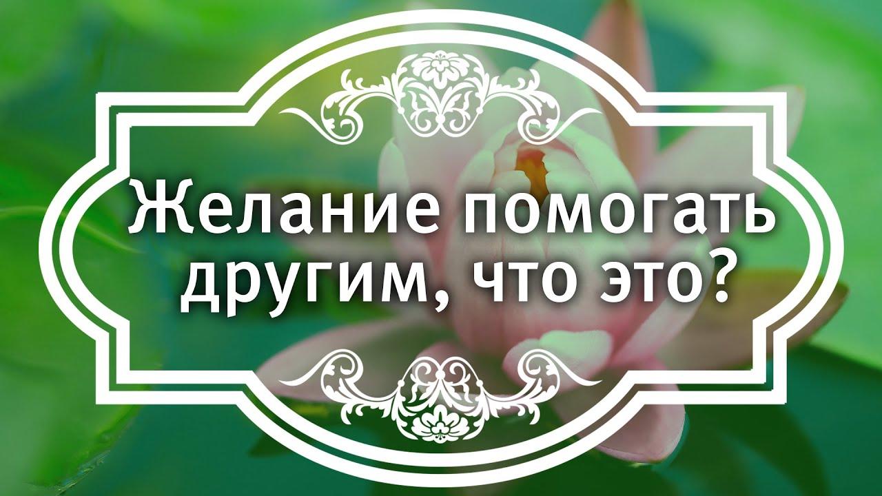 Екатерина Андреева - Желание помогать другим, что это?