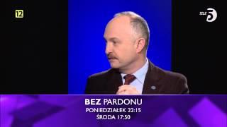 Adam Jarubas, Wawrzyniec Konarski i Mirosław Oczkoś  w BEZ PARDONU, odc. 3, zwiastun