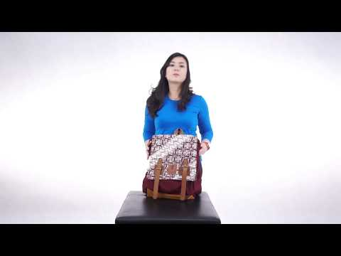 TAS RANSEL BATIK BACKPACK BIO TERCERIO ESGOTADO VIDEO