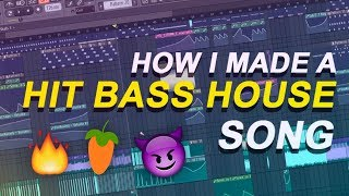 HOW I MADE A HIT BASS HOUSE SONG FREE FLP