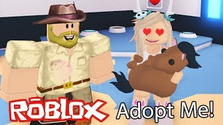 🐴 I TEACH TIPS TO MY BABY HORSE IN ADOPT ME! Roblox