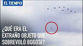 Extraño objeto sobrevuela Bogotá durante revista aérea